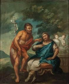 Giovanni il Battista rimprovera Erode