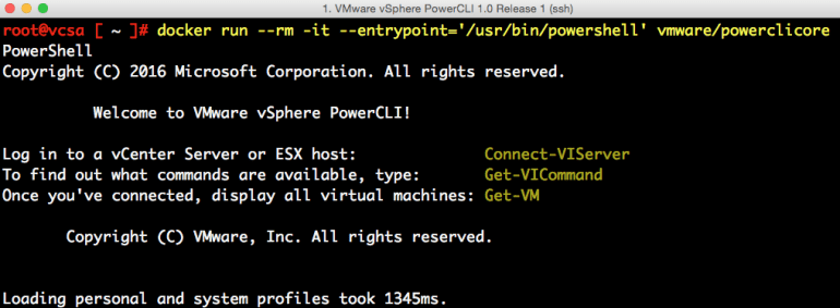 docker-container-on-vcsa-6-5-4