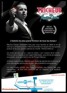 Tricheur, une légende manipulée par Maurice DOUDA (75) @ Théâtre BO Saint Martin | Paris | Île-de-France | France
