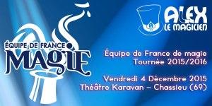 Équipe de France de magie FFAP (69) @ Le Karavan théâtre