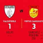 Valdipierle - Virtus Sangiustino (1-3) - 26 Settembre 2021