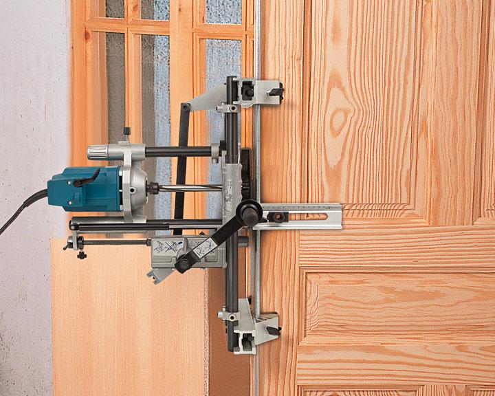 Satin Nickel Mortise Door ... & Door Mortiser - Sanfranciscolife