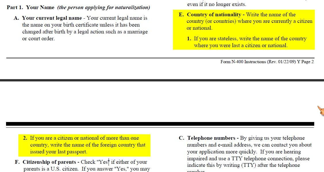 Citizenship Form Colbro