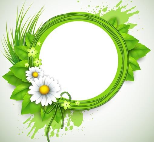 Vds - green photo frame