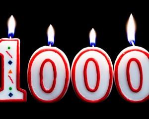 1000 Posts - Blog Vishows