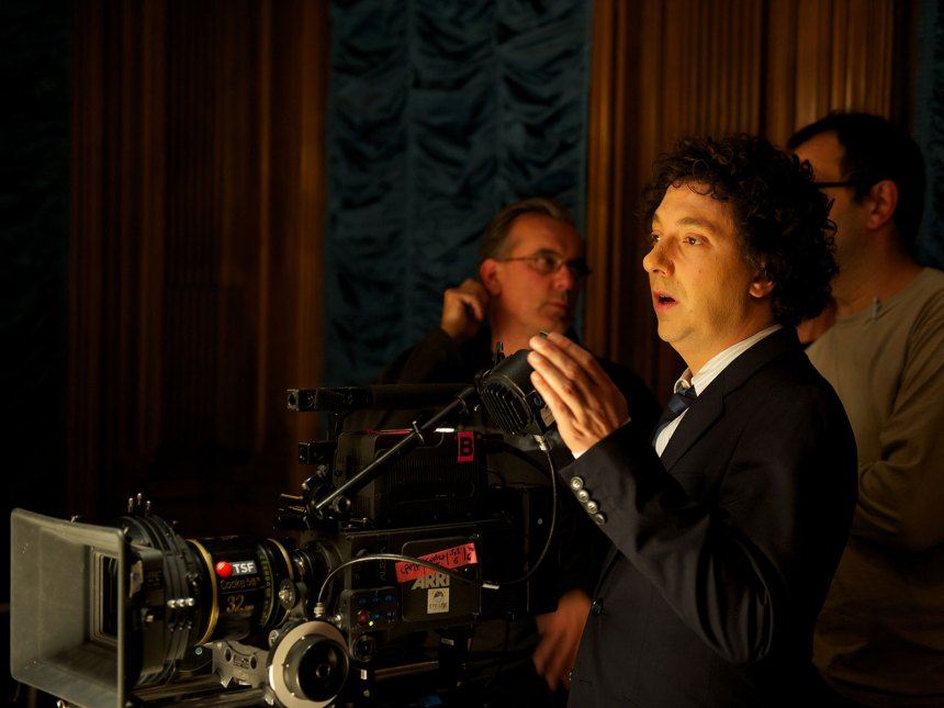 Guillaume Gallienne, derrière la caméra. (photo promotionnelle : Gaumont Distribution)