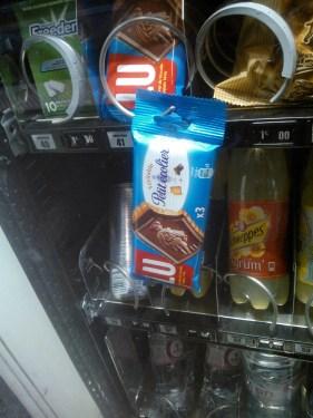 Distributeur Selecta pas tombé Petits écoliers
