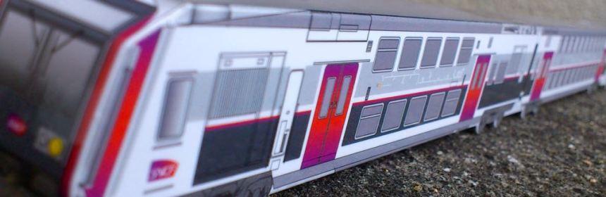 Les diff rents trains du rer c - Comment dessiner un train ...