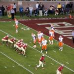 FSU Seminoles versus UoF Gators Football Match