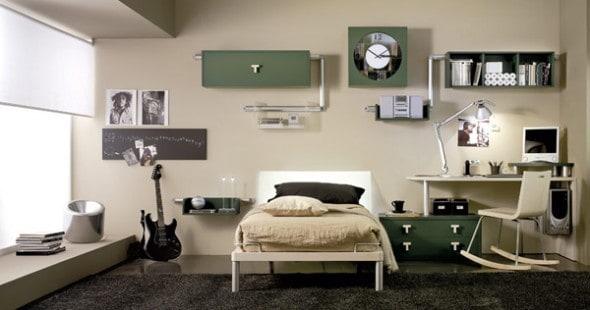 12 Modelos de diseños de cuartos para hombres jóvenes - VisitaCasas - Decoracion De Recamaras Para Jovenes Hombres
