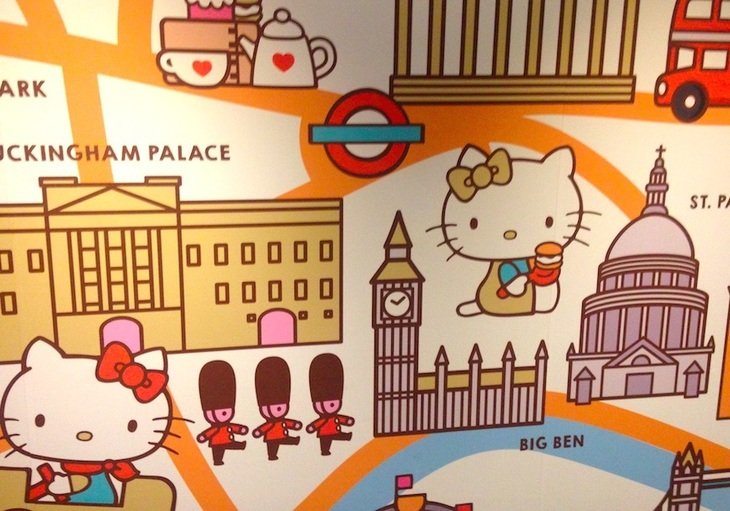 Afternoon Tea con Hello Kitty en Londres