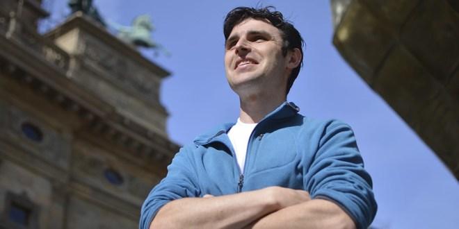 Lukas, um guia de Praga que fala português
