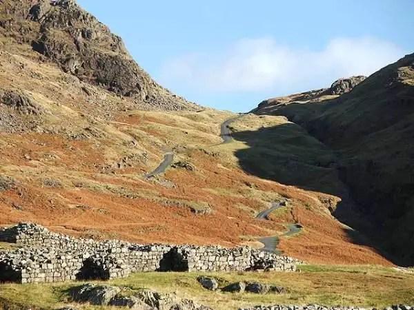 Hardknott Pass Visit Cumbria