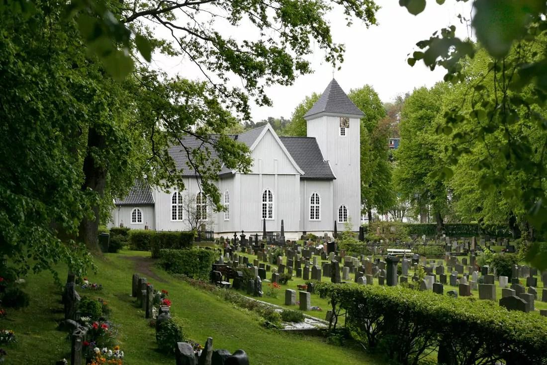 Hold hviledagen hellig i Drøbak Kirke.