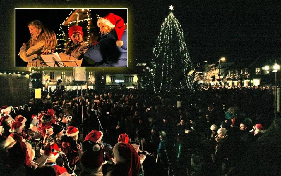 Advent blir innledet med tenning av julegrana 3. desember kl 16.30.