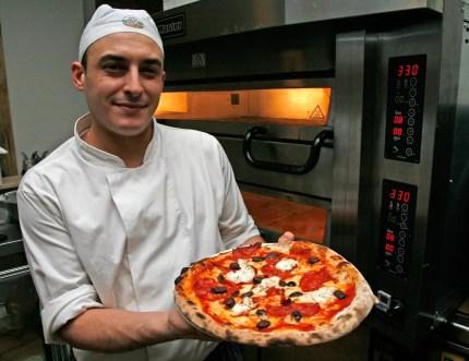 Rocco byr på ekte, italiensk pizza.