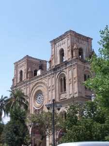 Built mainly in romanesque style.