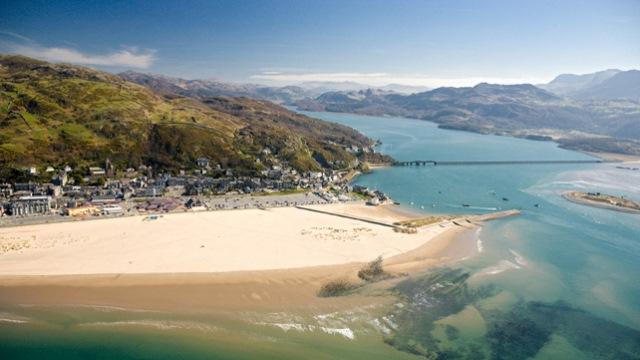 Barmouth In Mid Wales