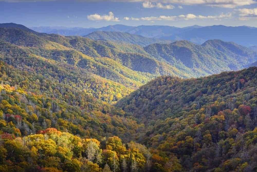 Fall In The Smokies Wallpaper Smoky Mountain Tourism Helps Tennessee Break Record