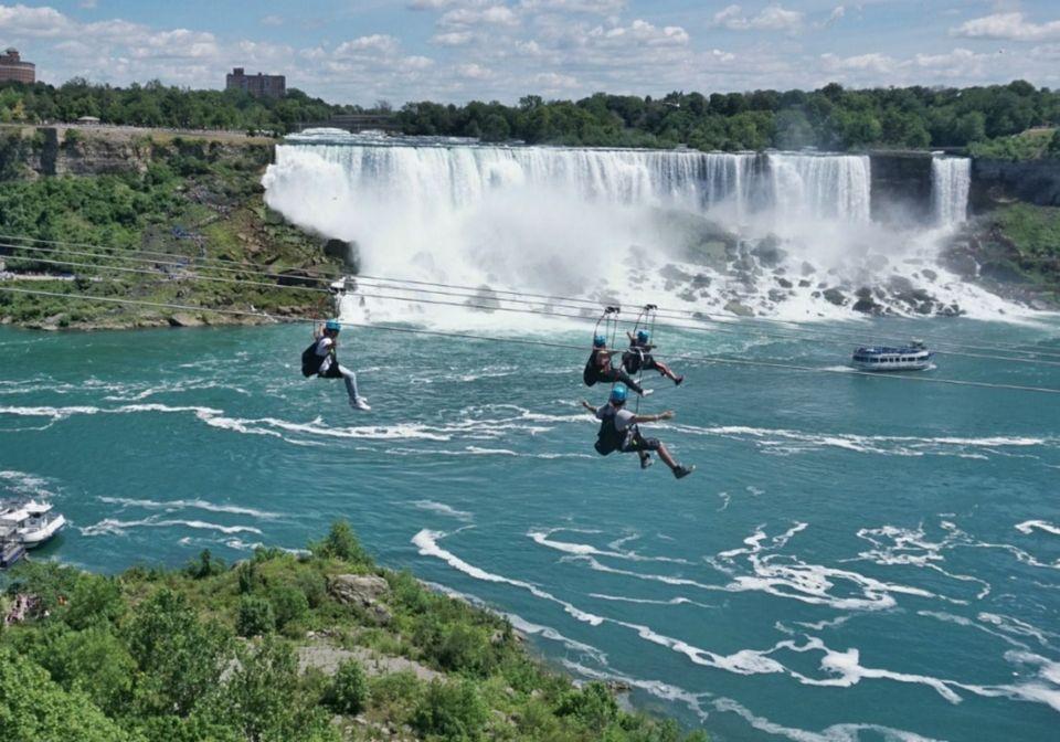 Wildplay Niagara Zipline Mistrider Visit Niagara Canada
