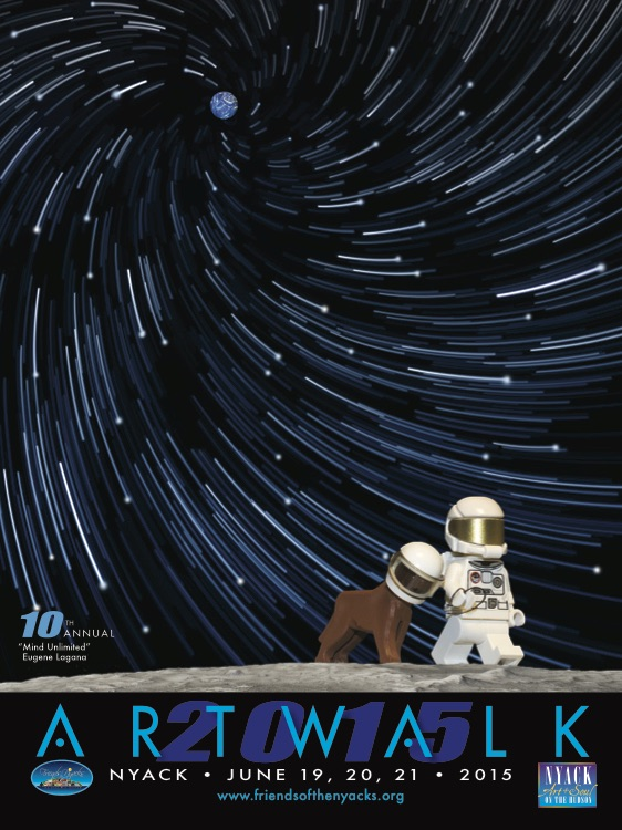 ART WALK 2015 poster