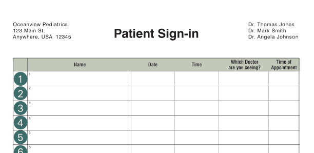 Custom Sign-in Log Examples