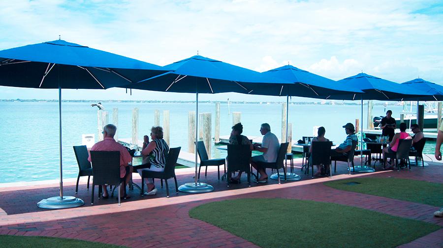 Waterfront dining in Sarasota County Visit Sarasota