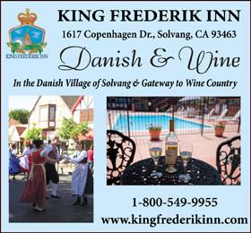 King Frederik Inn Solvang