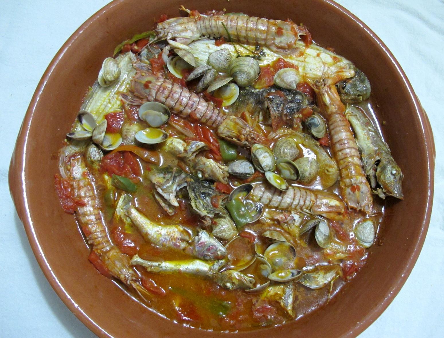 Zuppa di pesce vasto ricetta