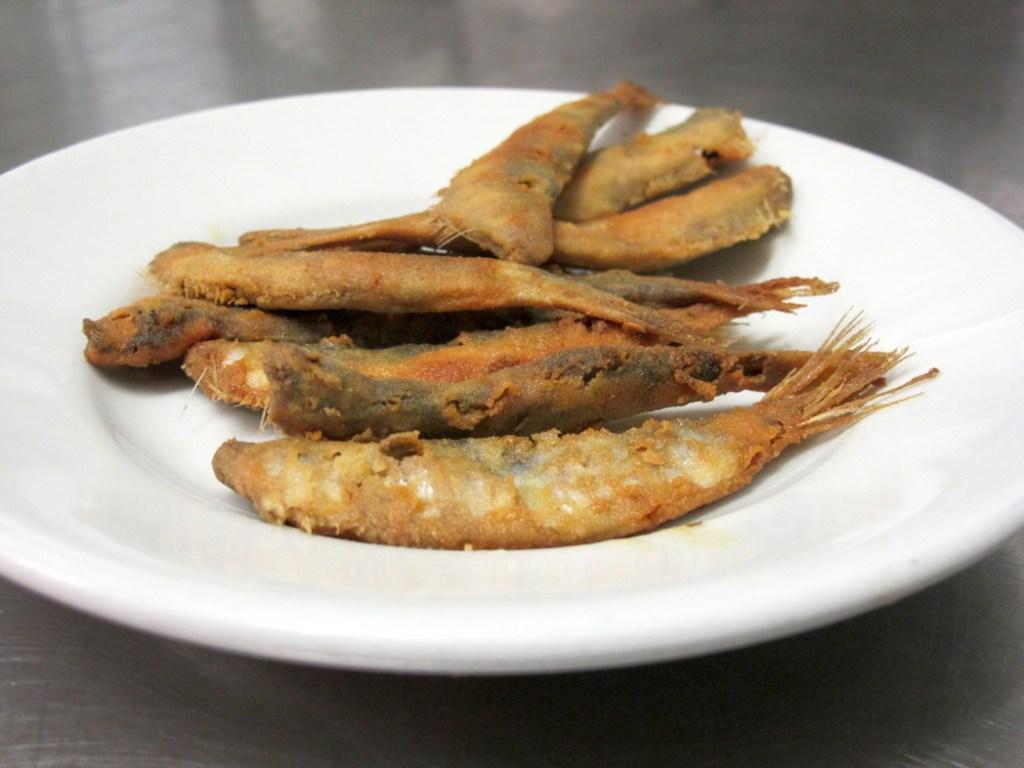Sarde fritte
