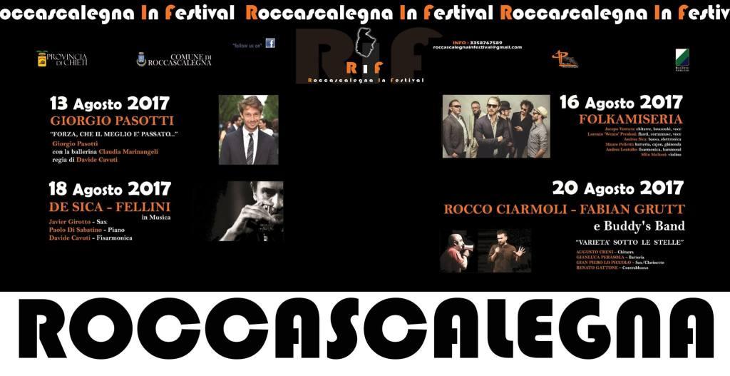 Roccascalegna in Festival