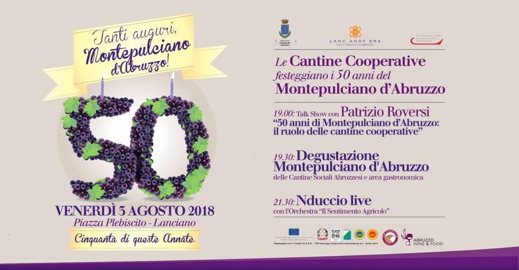 50 anni Montepulciano d'Abruzzo DOC
