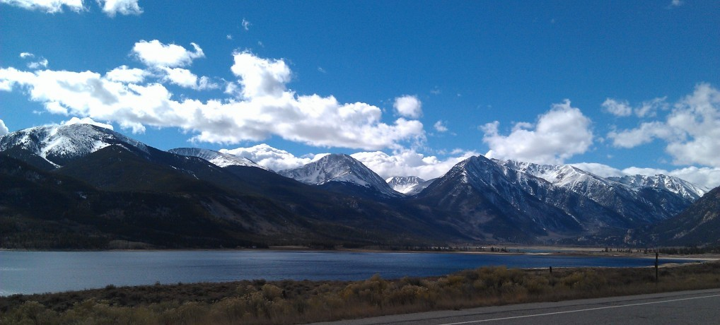 Twin Lakes Colorado: in heart of the high country.