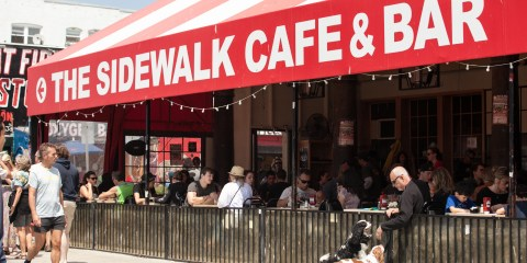 The Sidewalk Cafe