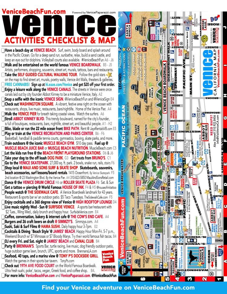 2019_VeniceBeachFun_Checklist