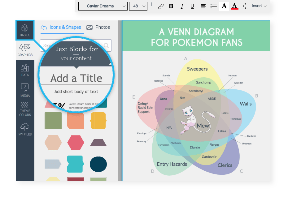 online venn diagram maker 2 circles
