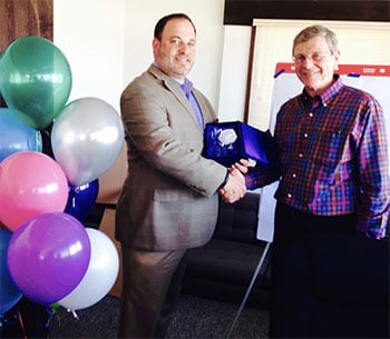 Regional Executive Jason Bateman and Bill Hawfield