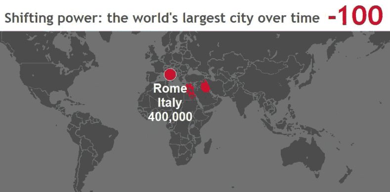 These 3 Animated Maps Show the History of the World\u0027s Largest Cities - animated maps
