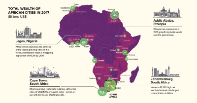 Map: Which Cities Hold Africa's Wealth?