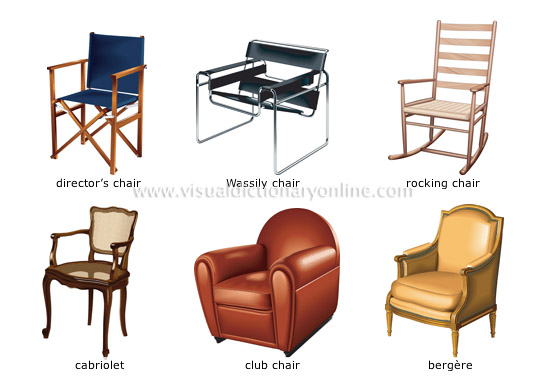 HOUSE  HOUSE FURNITURE  ARMCHAIR  EXAMPLES OF ARMCHAIRS 1 - examples of