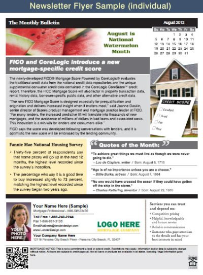 Mortgage Marketing Flyers, Loan Officer Marketing, Mortgage Flyers, Mortgage Postcards, Open ...