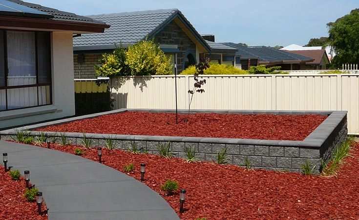 Concrete Block Retaining Walls Adelaide Design Examples - Design Of Retaining Walls Examples