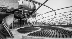 Jay Pritzker Pavilion mit Bühne im Millennium Park