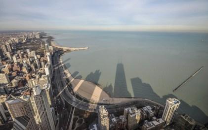 Shaddow Skyline of Chicago