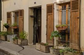 Pariser Häuserfront