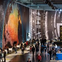 Massive scale, breathtaking data-driven visualisation at CeBit 2014