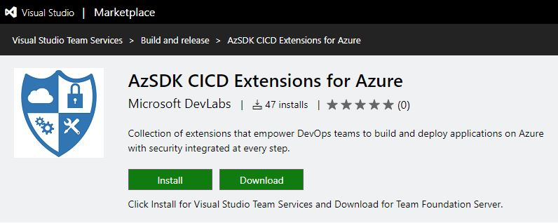 Visual Studio Geeks Automate DevSecOps with CI CD using VSTS - cicd