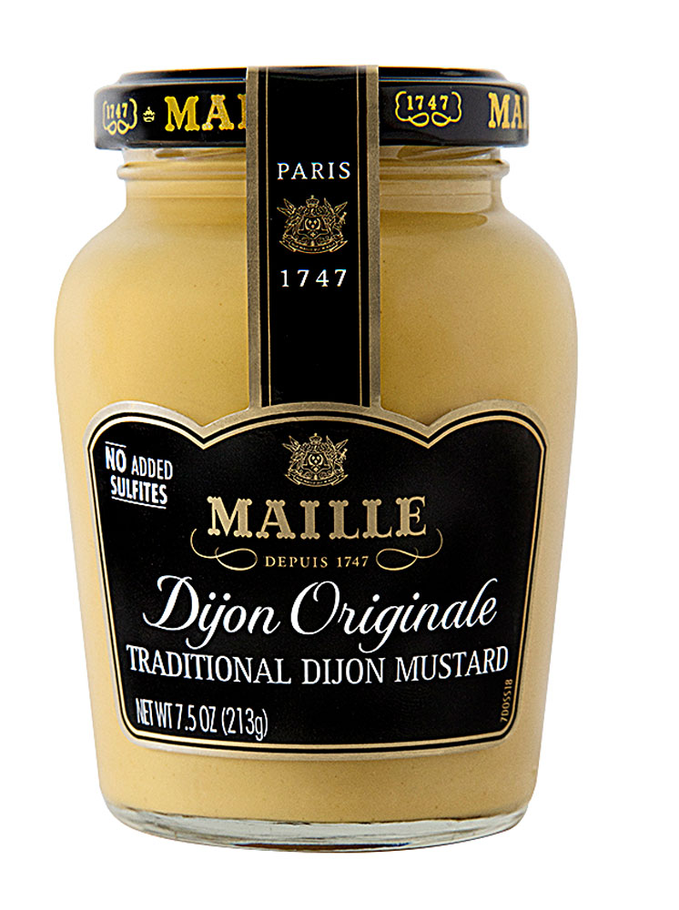 Paleo Fish with Maille Dijon Originale Mustard