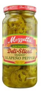Mezzetta Deli Sliced Tamed Jalapeno Peppers