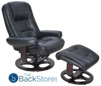 Barcalounger Jacque Pedestal Chair and Ottoman